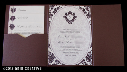 edwardian style wedding invitations